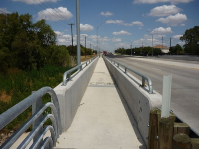 Bridge Rail Handrail Texas Corrugators